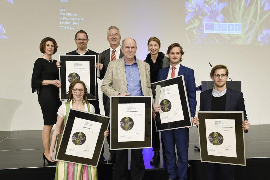 Die Sieger des Innovations- und Forschungspreises des Landes Kärnten 2018